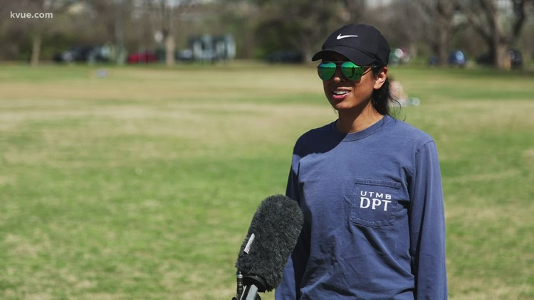 Share Your Good News: Austinites keep it positive in Zilker Park