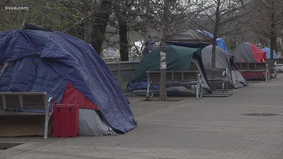 Homeless camping ban going to May ballot in Austin