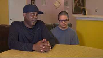 Single foster dad in Austin shows you're never too old to be a parent again