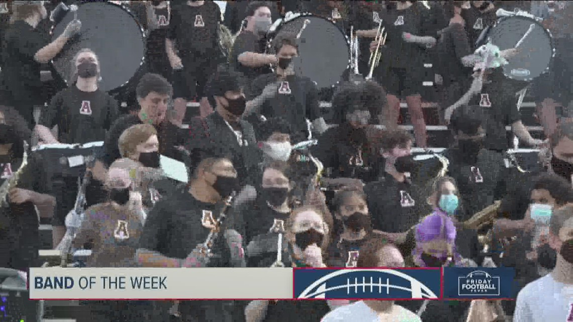 KVUE's Friday Football Fever Band of the Week – Oct. 8, 2021