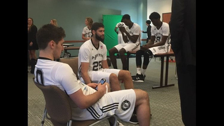 Austin Spurs media day-8