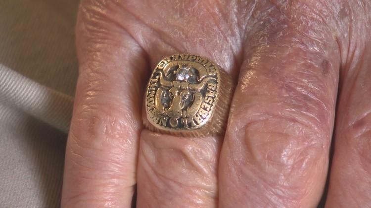 Charlie Gorin UT baseball national title ring 1950