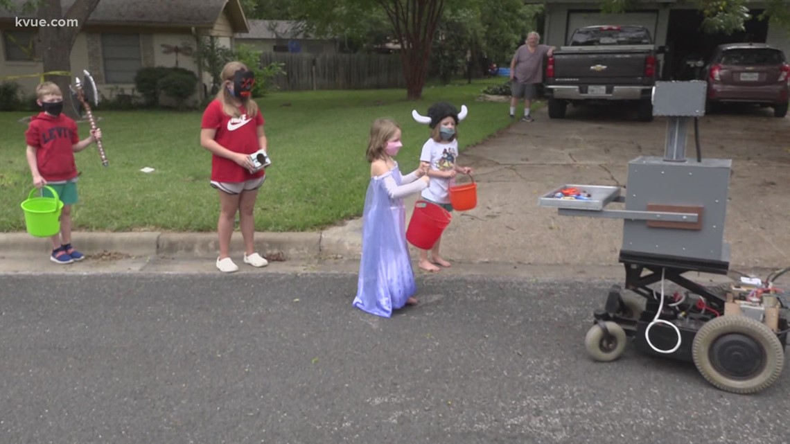 Check out how some Austinites are finding unique ways to celebrate Halloween