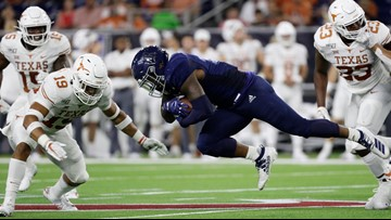 HIGHLIGHTS: No. 12 Texas Longhorns dominate Rice Owls in Houston, 48-13
