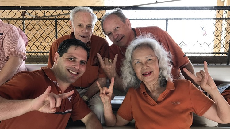 George and Carol McCoy at a UT game.