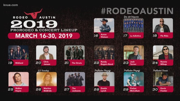 Rodeo Austin announces 2019 lineup