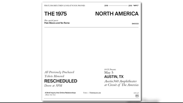 Fans frustrated over Austin360 Amphitheater's handling of The 1975 show