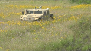 Army testing out new driverless vehicles