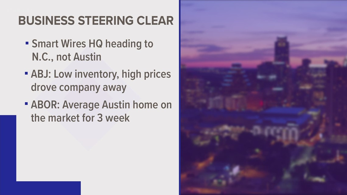 Business steers clear of Austin due to housing issues
