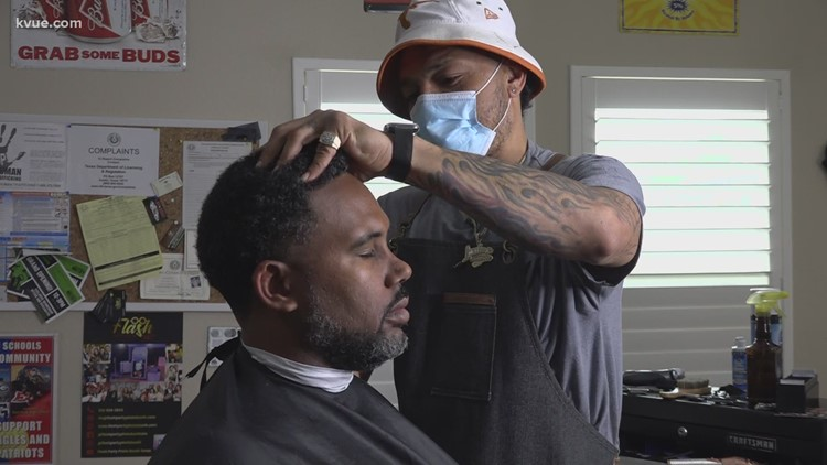 From prisoner to business owner, how one Georgetown man is changing lives with clippers
