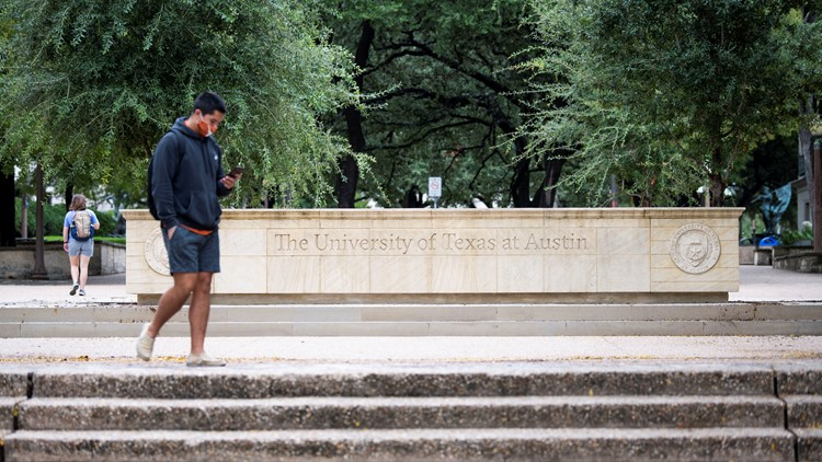 UT Austin no longer notifying all students if teachers, other students test positive for COVID-19