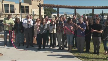 San Marcos downtown mobility hub opens