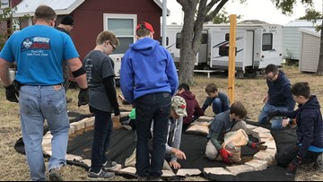 Lakeway Boy Scouts work to help formerly homeless individuals in Austin