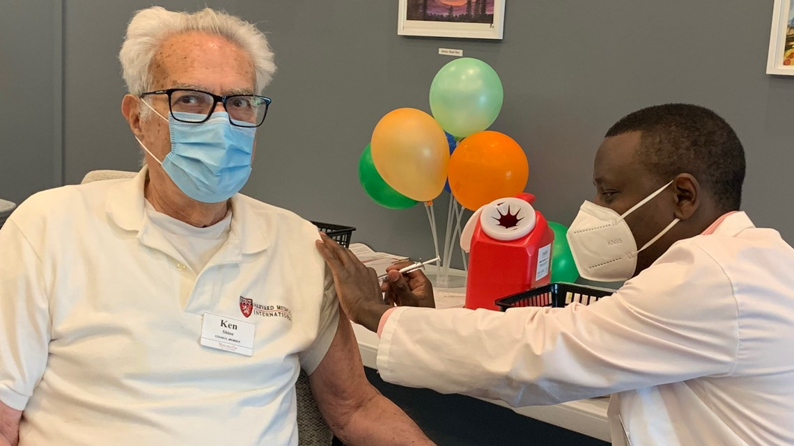 'A sense of relief' | Seniors can taste freedom after second COVID-19 vaccine dose