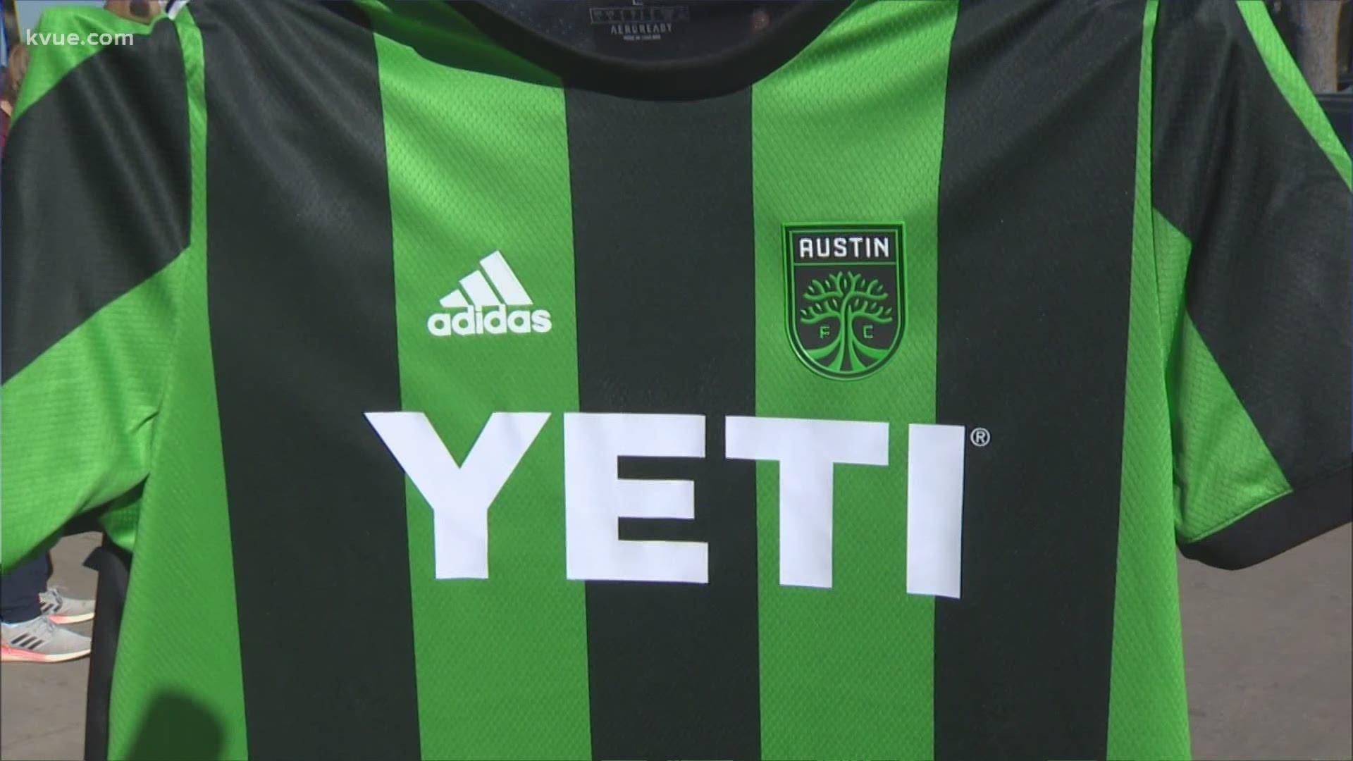 Austin FC unveils jerseys