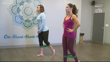 Exercise Minute: Quads, glutes & balance