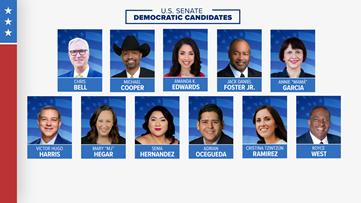 Here's what you missed at KVUE's U.S. Senate Democratic primary debate