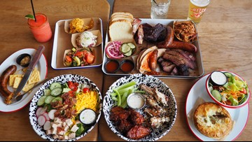 The Switch in Dripping Springs offers Hill Country views, craft BBQ