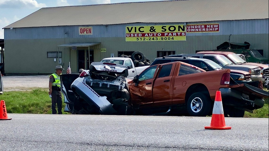 Man killed, two children hospitalized after crash near Circuit of