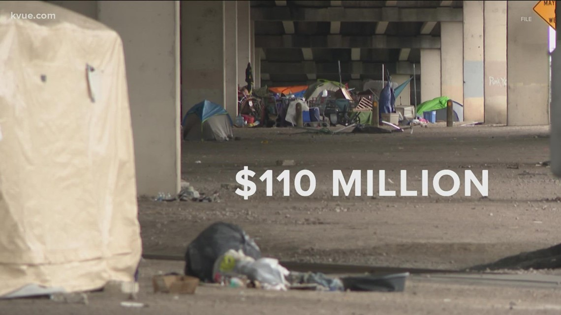$110M approved to address homelessness in Travis County