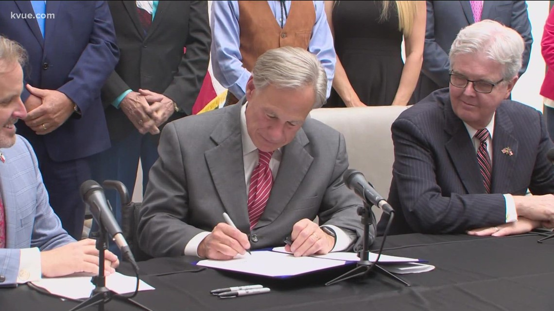 Gov. Abbott signs controversial election bill into law
