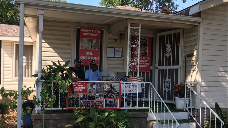 WWII vet Richard Overton's Austin home becomes historic landmark after council vote