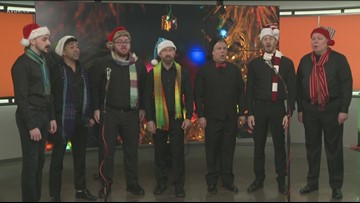 Austin Gay Men's Chorus visits KVUE on Christmas Eve