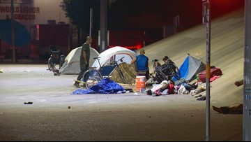 TxDOT to clean Austin homeless camps under bridges, governor's office says