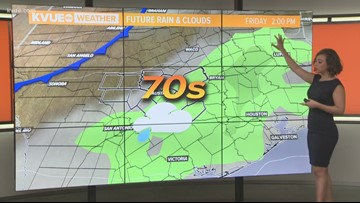 Strong cold front on the way
