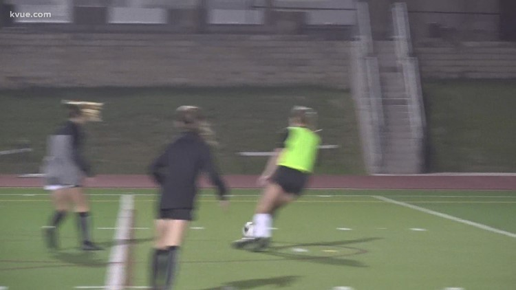 Vandegrift girls soccer team 2 wins away from state championship