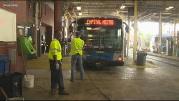 Take This Job: Cleaning CapMetro buses