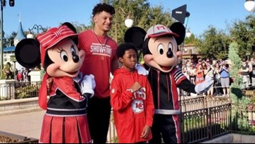 Austinite first Make-A-Wish kid to join Super Bowl MVP on Disney World trip