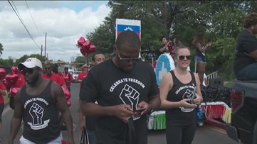 Hundreds celebrate Juneteenth in Austin