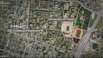 UT police search for indecent exposure suspect