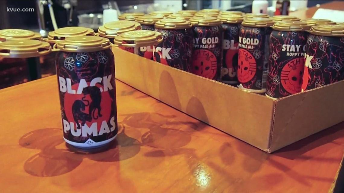 Black Pumas beer gives back to local organizations