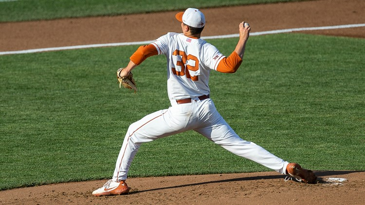 Texas Longhorns pitcher Ty Madden drafted 32nd overall in 2021 MLB Draft