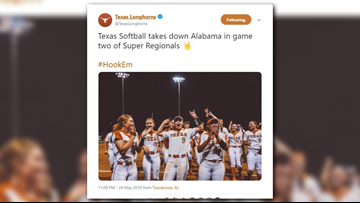 Texas Longhorns softball pulls off biggest comeback of season, forces Game 3 in Super Regional