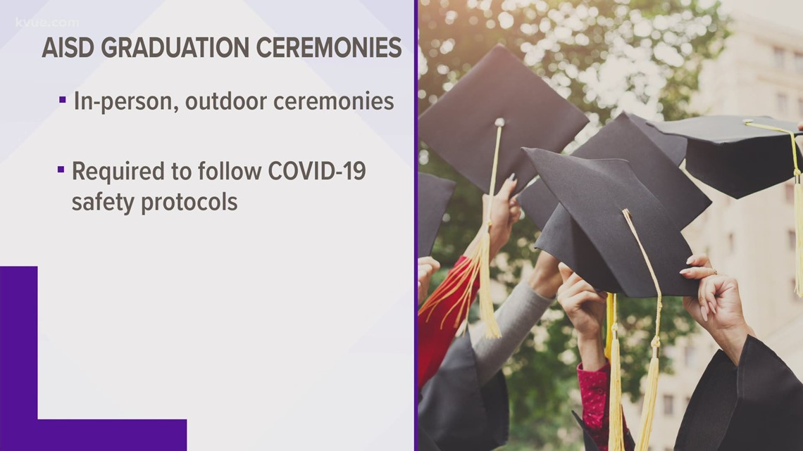 Austin ISD to hold in-person graduation ceremonies