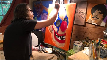 San Marcos man selling his art after suffering hearing loss