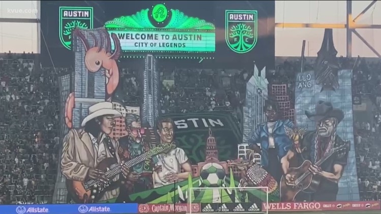 Behind the scenes creating Austin FC's first tifo