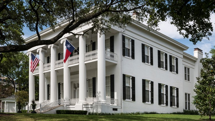 Tours at Texas Governor's Mansion set to resume on March 10