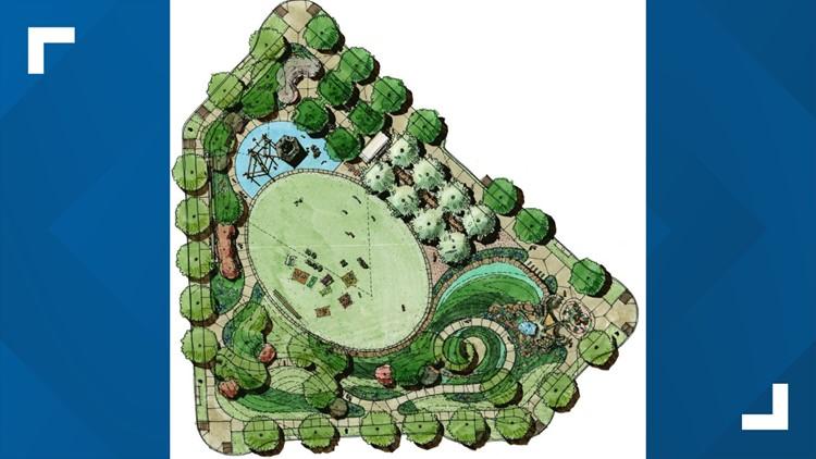 New park in Mueller