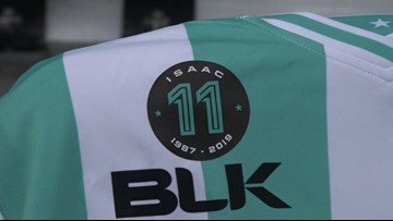 Austin Bold FC players remember Promise Isaac