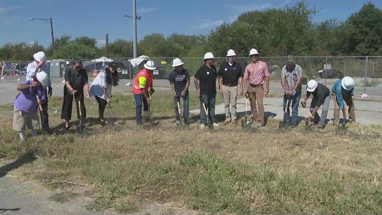 Esperanza Community: Officials break ground on State-sanctioned homeless campsite in Austin
