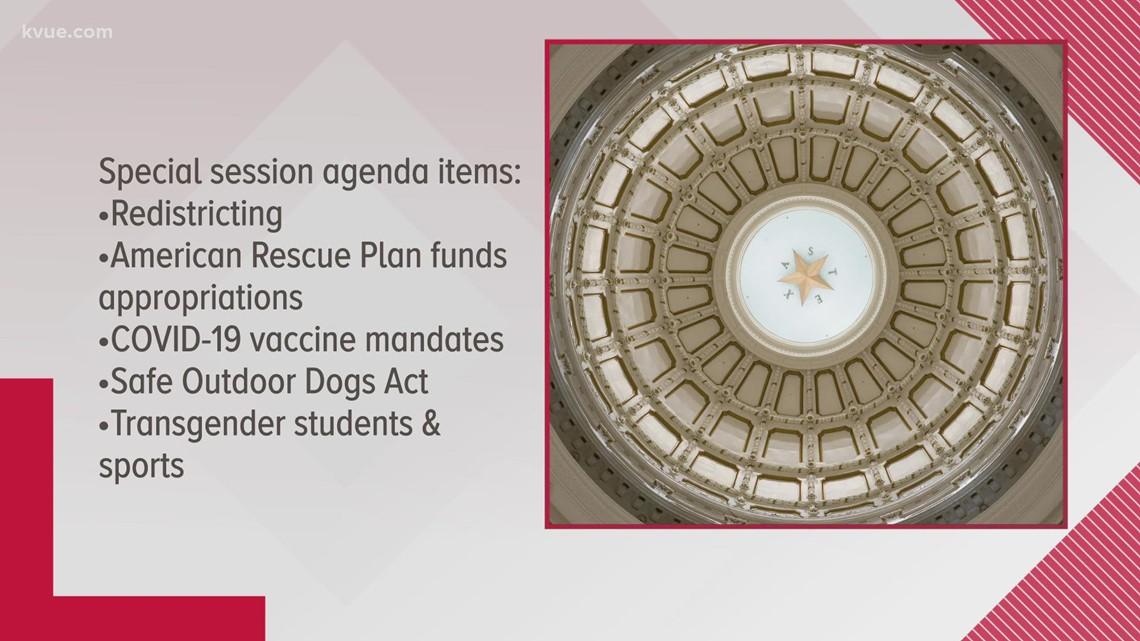Gov. Greg Abbott calls third special session for Texas Legislature