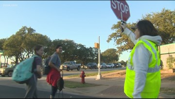 Take This Job: Leander ISD crossing guard