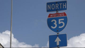 I-35 lane reductions expected in Austin between Rutherford Lane and US 290