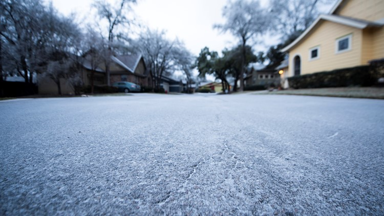 Blog: Winter storm forces closures of roads, services in Austin area Tuesday