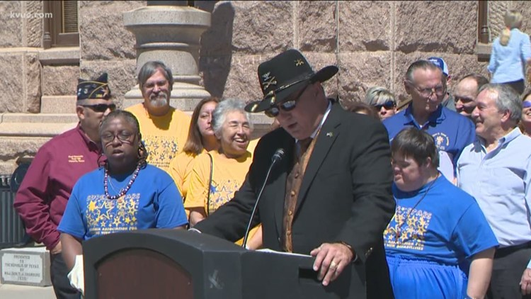 Texas veterans hold rally to change bingo rules