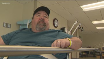 Hutto man learning to walk again after contracting vibrio
